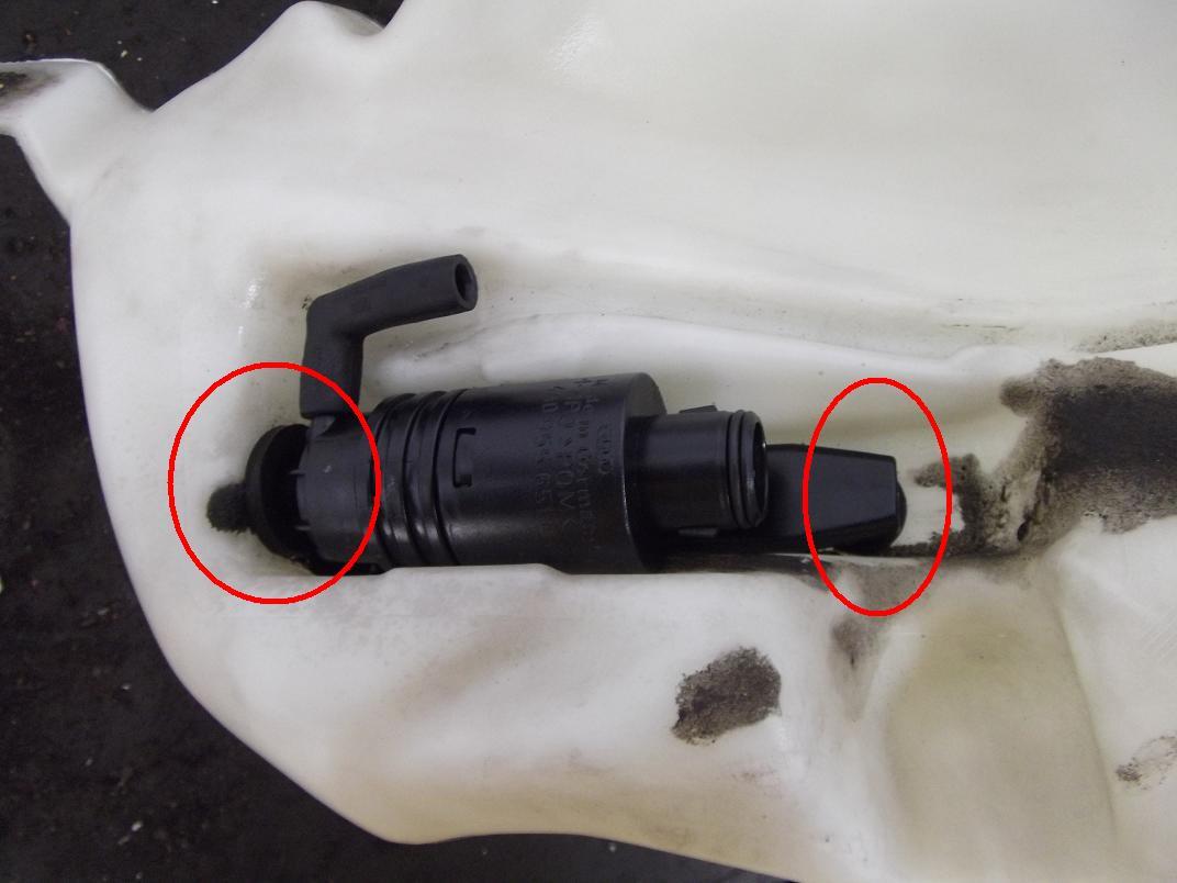 Wischwasch Wasserpumpe Mit Check Control Nachr 252 Sten A4