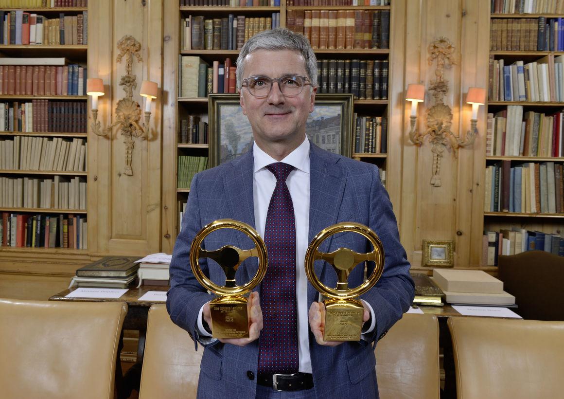 Rupert Stadler, Vorstandsvorsitzender der AUDI AG