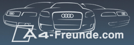 Deine Community fuer und ueber den Audi A4. Besuche unsere Seite unter http://www.a4-freunde.com